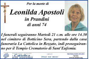 apostoli leonilda